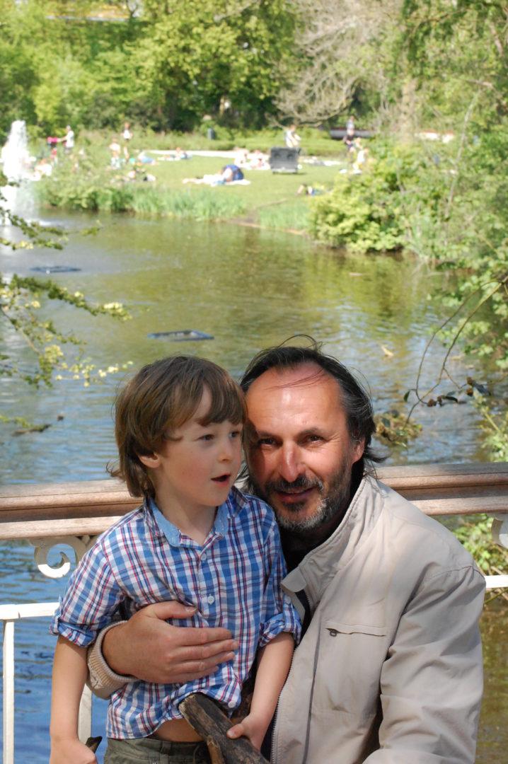 Jan rychlík se synem