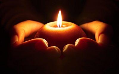Dušičková meditace světla 20181102
