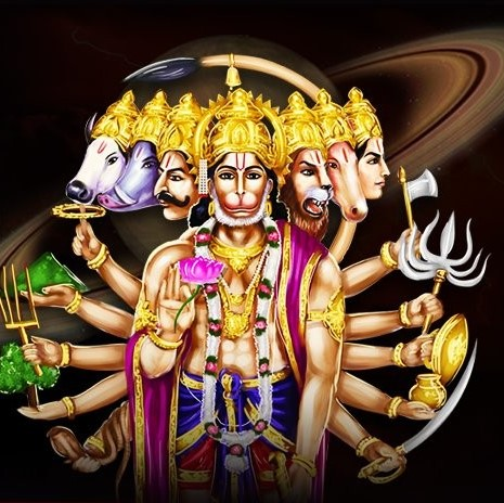 Saptamukhi Veera Hanuman yagnya ( odvaha, ochrana a splnění přání)