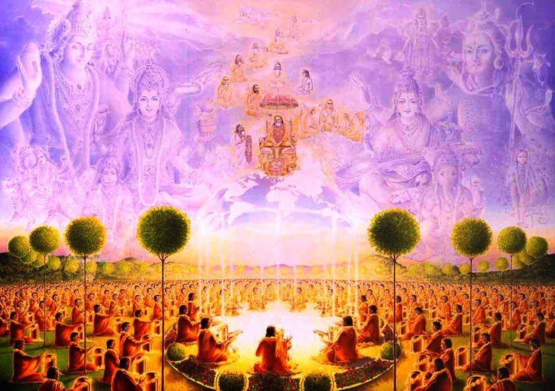 Pitru Shanthi yagya– pro osvobození našich předků a vyčištění našich minulých životů