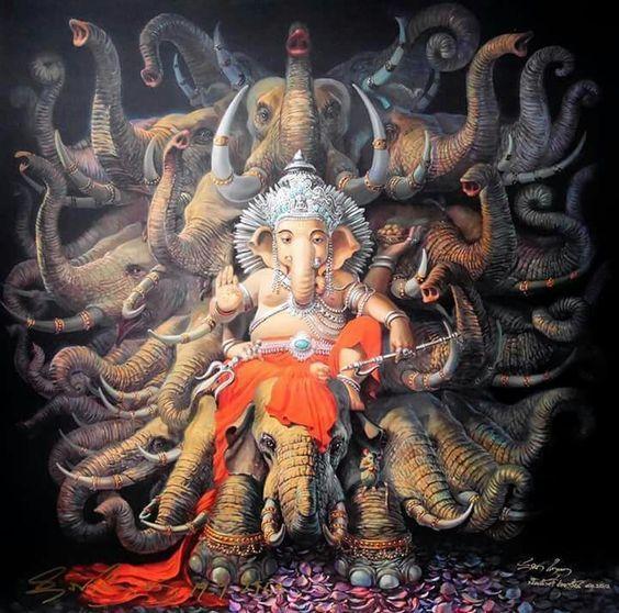 Kariaya siddhi Ganapathy yagya ( mj. odstranění překážek, dokonalost, úspěch, rodina, zdraví)