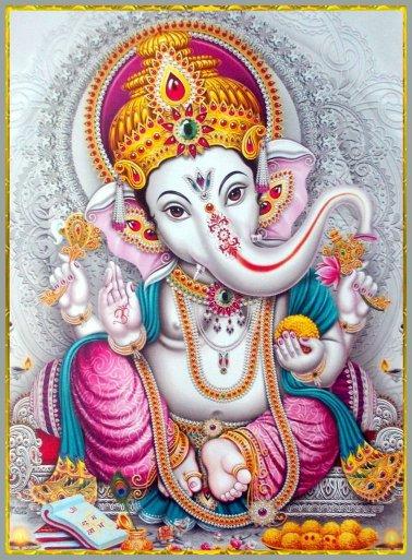 Maha Ganapathi yagya (mj. odstranění zaseknutí, rozpohybování života, rodinná pohoda)